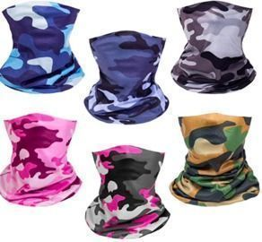 Summer UV Face Masks 6 Pack