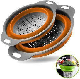 Collapsible Colanders with Handles