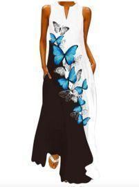 Sleeveless Loose Maxi Dress