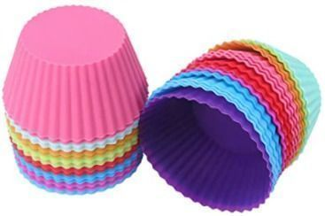 Silicone Baking Cups - 24pk