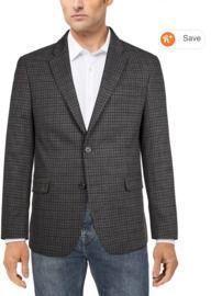 Tommy Hilfiger Men's Modern-Fit Patterned Blazer