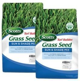Home Depot - Scotts 7lb Turf Builder Grass Seed Sun and Shade Mix, 2pk $44.97