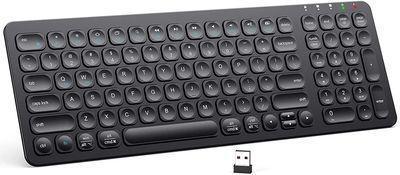 iClever GKA2-01B Rechargeable Wireless Keyboard