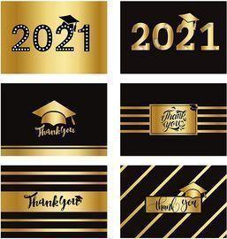 Foil Graduation Thank You Cards