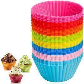 40pcs Silicone Muffin Cupcake Baking Cups
