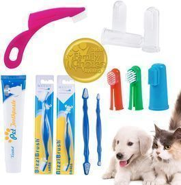 Pet Toothpaste and Toothbrush