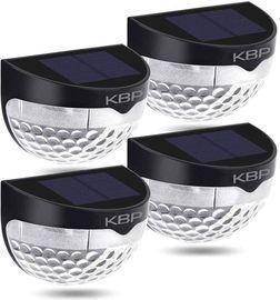 4-Pack of KBP Solar Fence Light