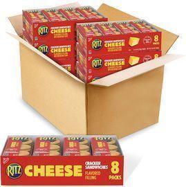 48pk of RITZ Sandwich Cheese Crackers