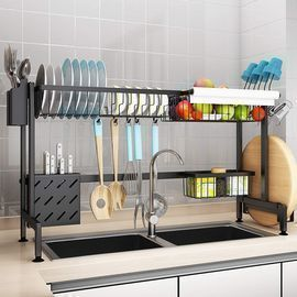 Large Over The Sink Dish Drying Rack