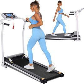 Tinfancy Electric Foldable Treadmill with LCD Display