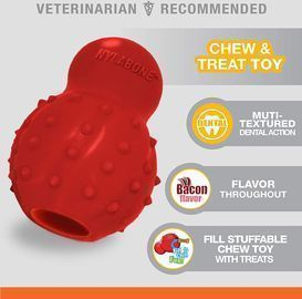 Nylabone Stuffable Chew Toy