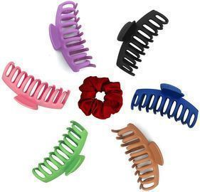 6 Piece Big Claw Hair Clips