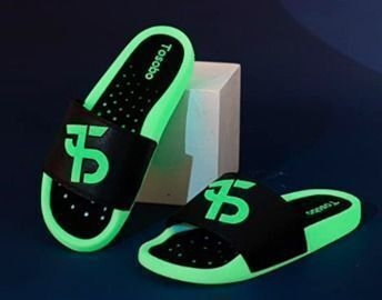 Mens Luminous Athletic Slide Sandals