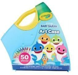 Crayola 50pc Baby Shark Art Case