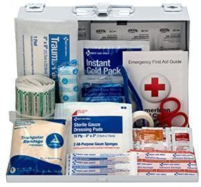 First Aid Only 178pc Contractor's First Aid Kit