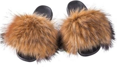 Women's Furry Slides