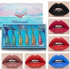 6Pcs Liquid Lipstick Makeup Sets