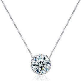 Beyond Love Crown Pendant Necklace