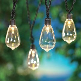 Mainstays 35-Count Outdoor LED Edison Bulb String Lights