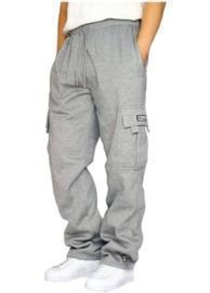 Drawstring Elastic Waist Sweatpants
