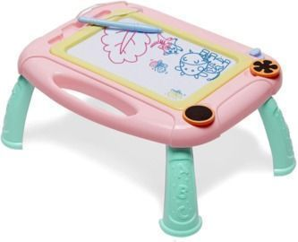 Magnetic Drawing Board Doodle Sketch Pad for Toddler Girls/Boys