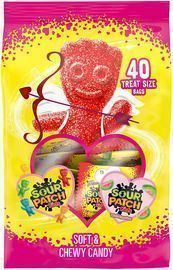 Sour Patch Kids Original and Watermelon Candy 40-Treats Pack