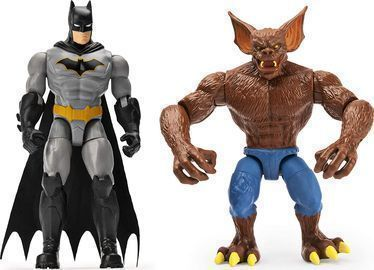 Batman and Man-Bat Action Figures w/ Mystery Accessories