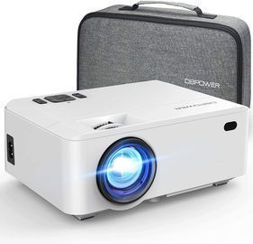 Mini Portable Video Projector with Carrying Case