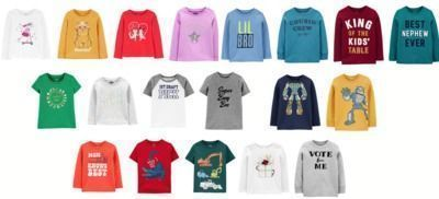 Toddler Graphic Tees - $4 or Less!