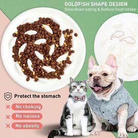 Slow Feeder Pet Food Bowl