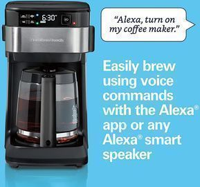 Hamilton Beach Smart Coffee Maker (Works w/ Alexa)