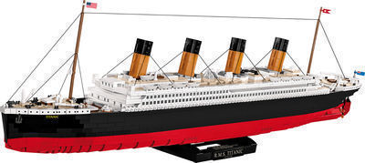 R.M.S TITANIC 1:300 2840 Piece Construction Blocks Building Kit