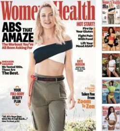 Women's Health Magazine 1yr Subscription