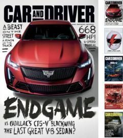 Car and Driver Magazine 1yr Subscription