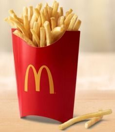 Free Large Fries with App Download