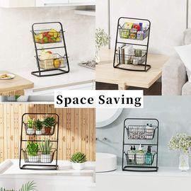 2 Tier Storage Basket