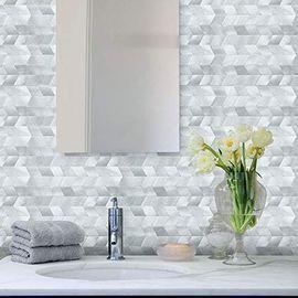 Peel and Stick Mosaic Tile Backsplash