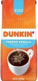 Dunkin Donuts Dunkin' Donuts French Vanilla Flavored 12-oz. Ground Coffee