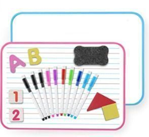Double-Sided Magnetic Dry Erase Board