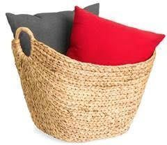 Large Multi-Purpose Seagrass Storage Basket w/ Handles