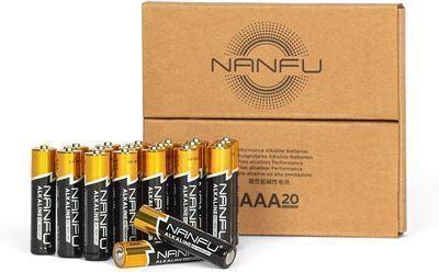 20 Count High Performance AAA Alkaline Batteries