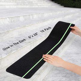Non-Slip Stair Treads With Glow In Dark Stripe -10-Pack