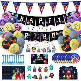 Among us Birthday Party Supply Set