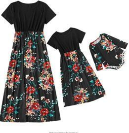 Mommy and Me Sleeveless Dress/Jumpsuits