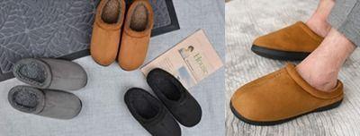 Men's Cozy Memory Foam Slippers