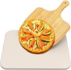 Pizza Baking Stone for Oven and Grill