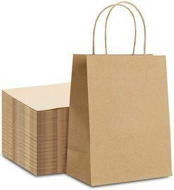 100PCs Kraft Paper Bags