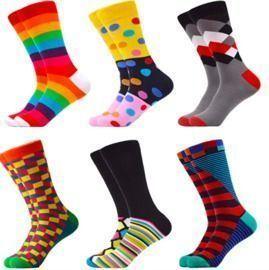 Men's Funny Novelty Crew Socks Gift
