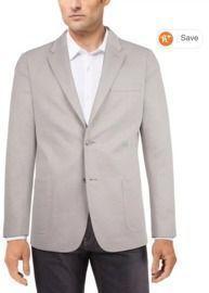 Tommy Hilfiger Men's Modern-Fit Solid Textured Knit Sport Coat