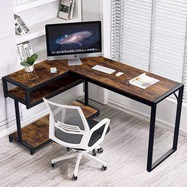 Amzdeal 56 x 41 L-Shaped Computer Desk